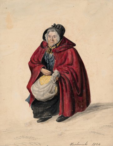 Match woman, Woolwich,1824 by John Dempsey