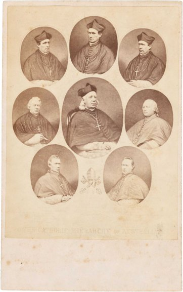 The Catholic Hierarchy of Australia, 1869 by Archibald McDonald, Henry Samuel Sadd