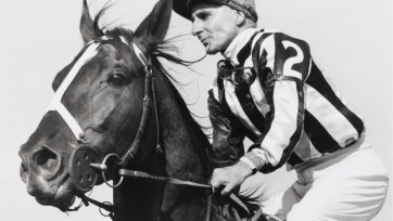 Billy Cook and Pride of Egypt, 1954 Ern McQuillan