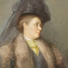Portrait of Mrs Tom Roberts, 1910 by Tom Roberts