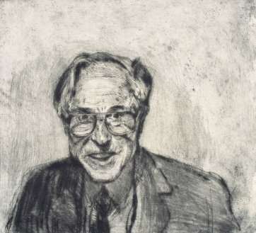 Professor Graeme Clark, 2000 by Peter Wegner