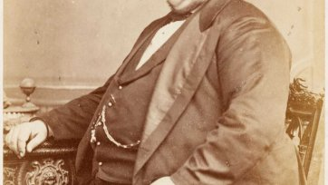 The Tichborne Claimant (Arthur Orton), c. 1872 Maull & Co Photographers