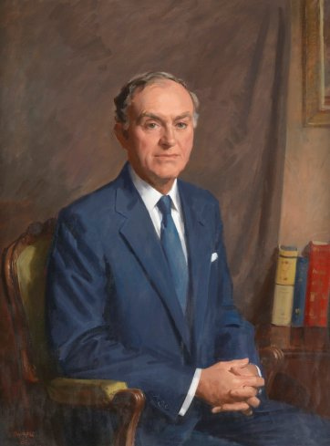 Sir James McNeill, 1980 by William Dargie