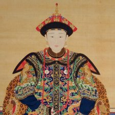 Portrait of a Manchu Noblewoman, 18th-19th C.