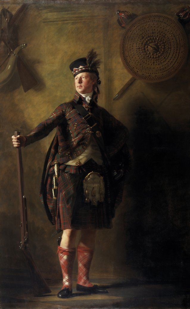 Ranaldson Macdonell of Glengarry, 1812 by Sir Henry Raeburn