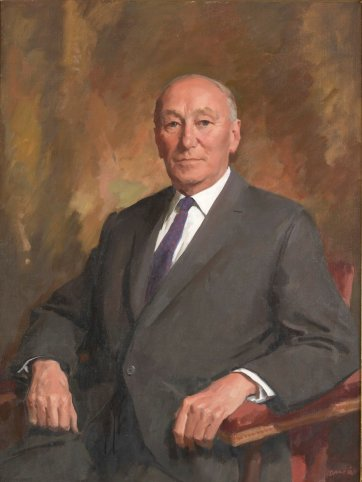 Sir Arthur Coles, c. 1971 by William Dargie