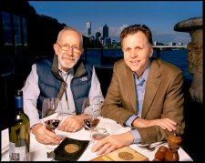 Barry Marshall and Robin Warren, 2007 by Robin Sellick