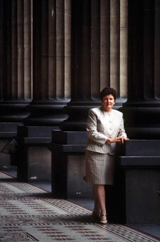 Joan Kirner, c. 1990 by Rennie Ellis