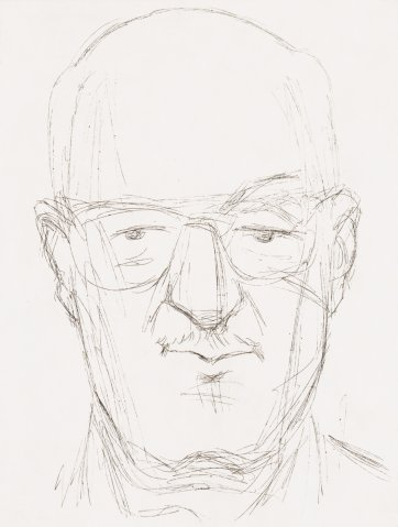 David Malouf, 1993 by Rick Amor