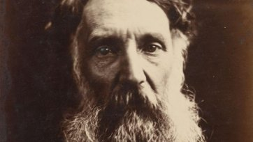 Edward John Eyre, 1867 by Julia Margaret Cameron