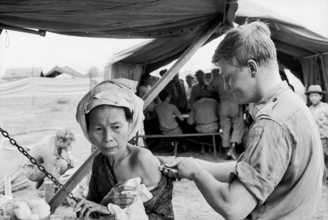 Phuoc Tuy Province, South Vietnam, 15 Jan 1969 by David Combe