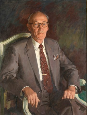 Sir Kenneth Coles, c. 1979 by William Dargie