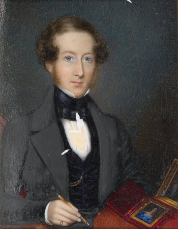Portrait of Joshua Payne, 1840 by Daniel Byrne