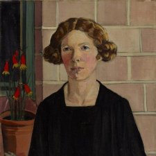 Self portrait, 1930 Margaret Preston. © Art Gallery of New South Wales, gift of the artist at the request of the Trustees 1930