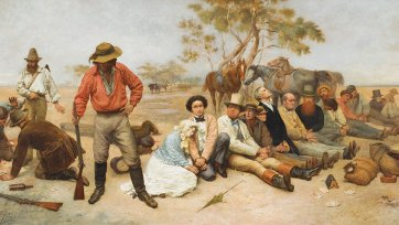 Bushrangers, Victoria, Australia, 1852, 1887 by William Strutt