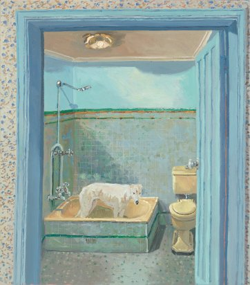 Lucy's bathroom, 2010 by Lucy Culliton