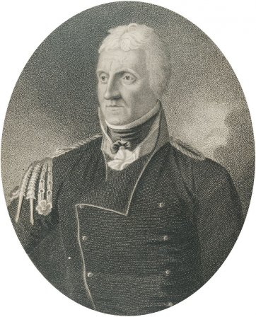 Major James Semple-Lisle, c. 1799 by J. Harding