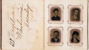 Album of portraits of family of William Taylor Macpherson, c. 1880 George S Bryant & Co, Boston