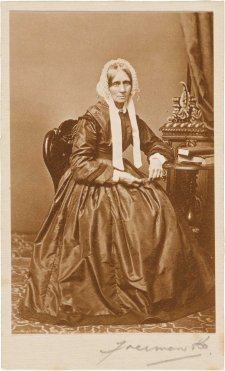 Maria Windeyer, c. 1865-68 Freeman Brothers