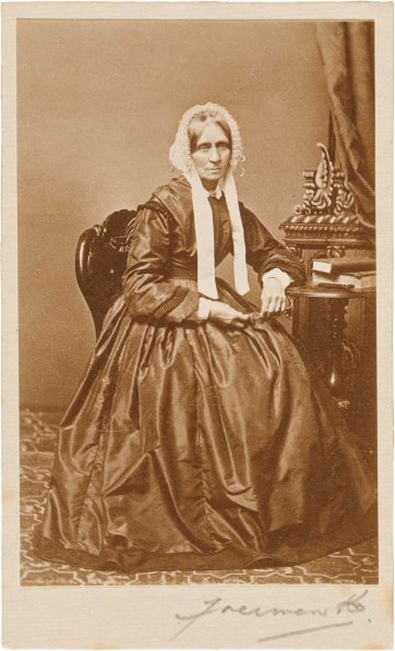 Maria Windeyer, c.1865-1868 by Freeman Brothers