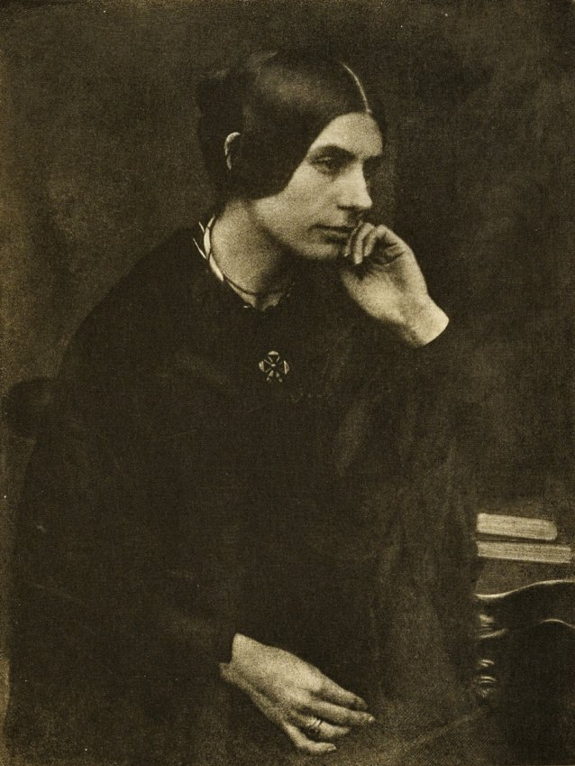 Lady in Black, 1912 by David Octavius Hill