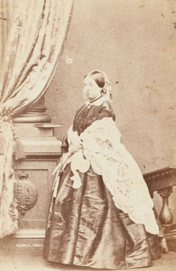 Queen Victoria, 1860-1865 Post Office Photographic Studio, Melbourne after John J. Mayall