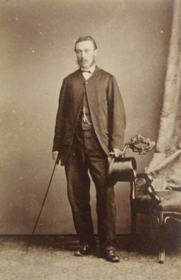 William Lyne, (late 1860s) by Charles Woolley