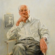 Sir Donald Bradman, 1990 Bill Leak