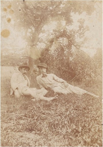 Jacques Casteau and Norman, Heidelberg, c. 1899 by Barroni & Co.