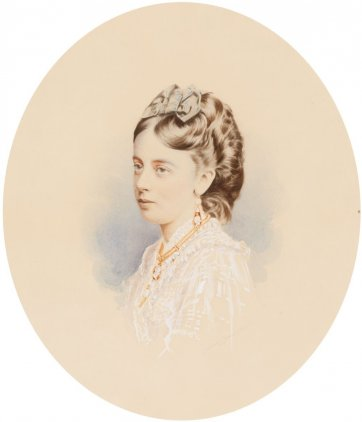 Edith Ellen Williams, c. 1871 Johnstone O'Shannessy & Co
