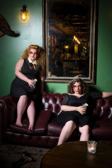 The gin soaked effervescence of Libby and Maeve, 2016 by Patrick Boland