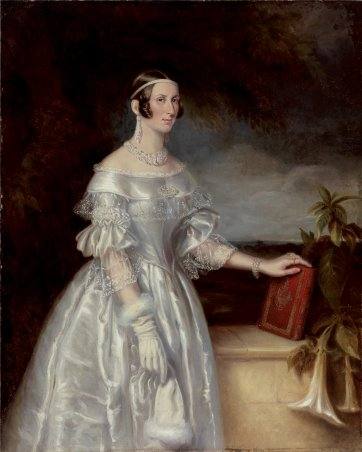Portrait of Mrs Alexander Spark, 1840