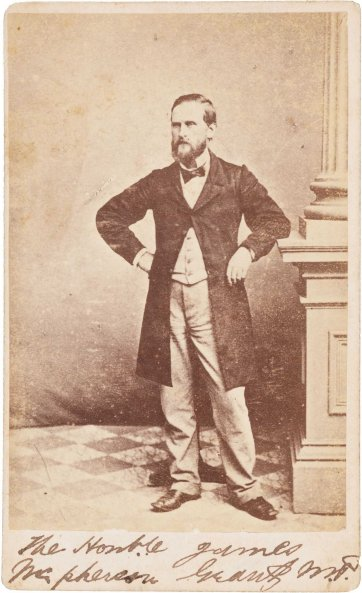 James Macpherson Grant, c.1870s by Paterson Brothers