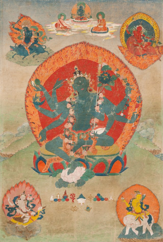 The Goddess Green Tara: Kham Province Eastern Tibet 19th century