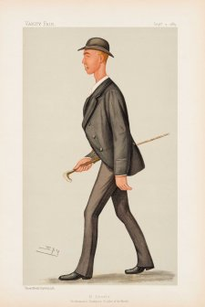 H Searle Professional Champion Sculler of the World (Henry Searle) (Image plate from Vanity Fair), 1889 Sir Leslie Ward