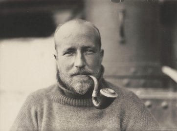 Portrait of Lieutenant Robert Bage, Australasian Antarctic Expedition, c.1911-1914 Frank Hurley