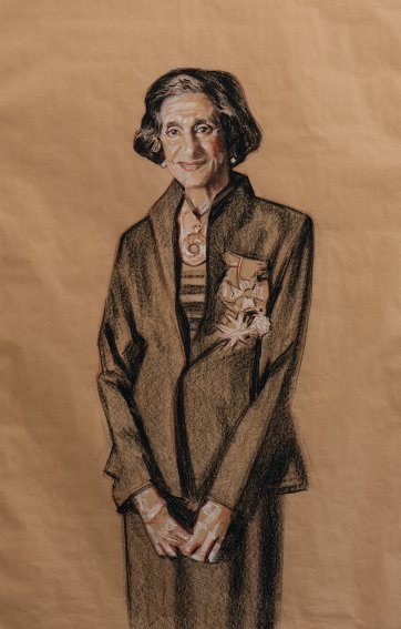 Study for Dame Marie Bashir, c. 2008