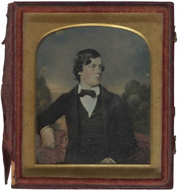 Portrait of a young man, held to be John Robertson, c.1852 by an unknown artist