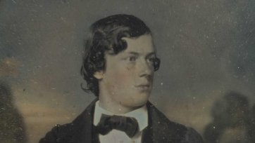 Portrait of a young man, held to be John Robertson, c. 1852 an unknown artist