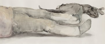 Resting, 2013 by Fiona McMonagle
