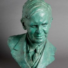 Bust of Frank McIlwraith, 1937 Barbara Tribe