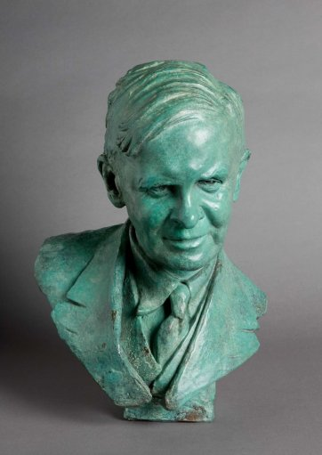 Bust of Frank McIlwraith, 1937 by Barbara Tribe