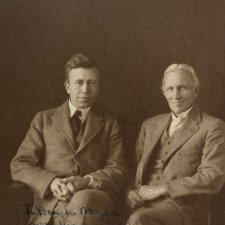 TW Edgeworth David and Vilhjalmur Stefansson, 1924 May Moore