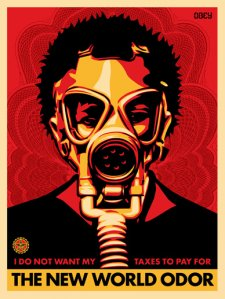 New World Odor, 2004 by Shepard Fairey