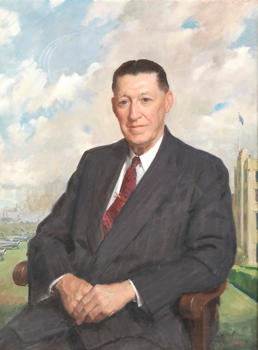 Sir Lawrence Wackett, c. 1961 by William Dargie