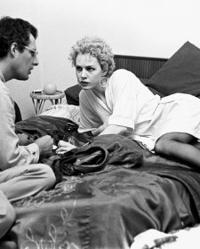 Director John Duigan and actor Judy Davis on the set of 'Winter of our Dreams', Sydney, 1981 by Robert McFarlane