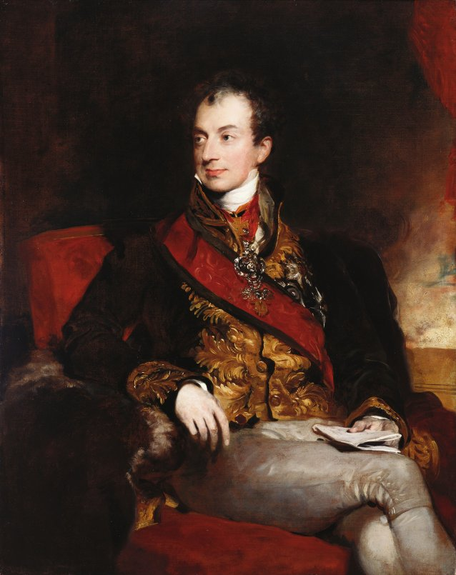 Clemens Lothar Wenzel, Prince Metternich c. 1815 by Sir Thomas Lawrence