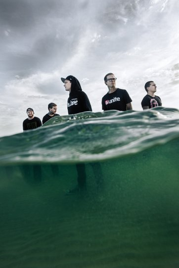 The Amity Affliction – Brighton Beach 2014 by Kane Hibberd