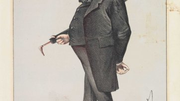Viscount Robert Lowe (Image plate from Vanity Fair Magazine), 1869 Carlo Pellegrini