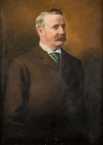 Edward Lloyd Jones, c. 1885? by Herbert Beecroft